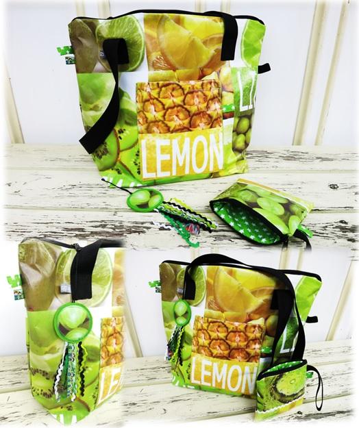 Tasche lemon2